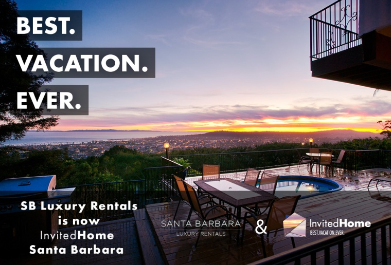 Santa Barbara Luxury Rentals is now InvitedHome Santa Barbara